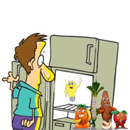 Refrigerators, Insights, and Fruits & Veggies